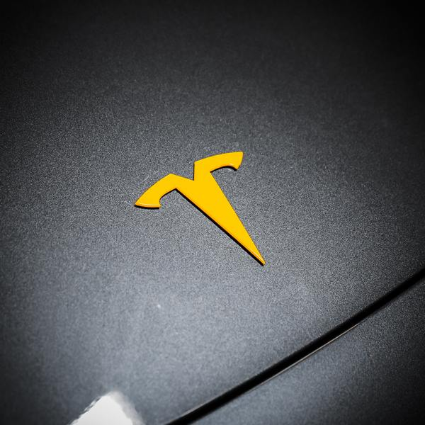 Tesla Emblem Customization